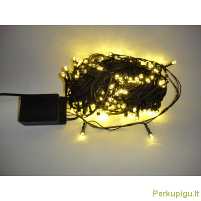Girlianda el. 100 l LED, gelsva, 10 m.